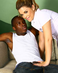 My New Black Boyfriend's Second Appearance Sophie Dee Blacks On Blondes