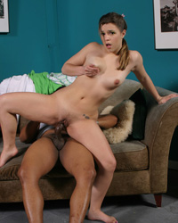 Katie Thomas Interracial Gangbang Sex Lefty and the Load Dumpers Photos